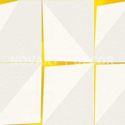 Papel de parede - Geométrico placas amarelo