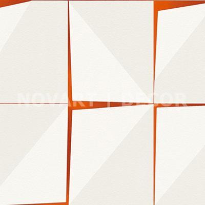 Papel de parede - Geométrico placas telha