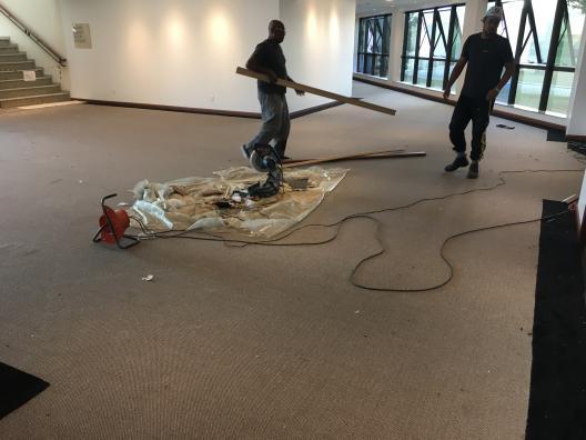 Carpete rolo polipropileno