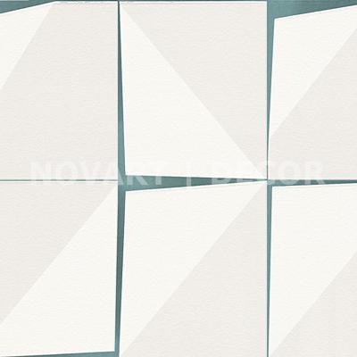 Papel de parede - Geométrico placas verde