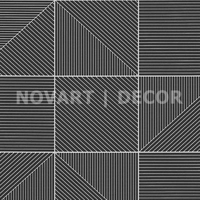 Papel de parede - Geométrico diagonal preto