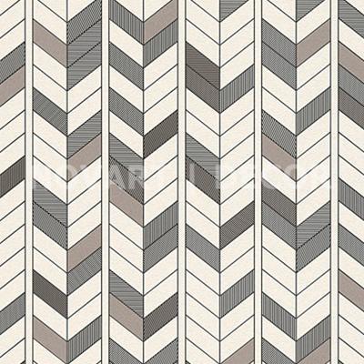 Papel de parede - Geométrico diagonal prata