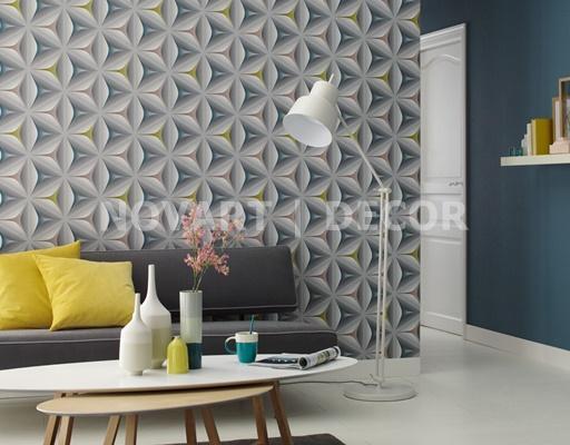 Papel de parede 3D moderno