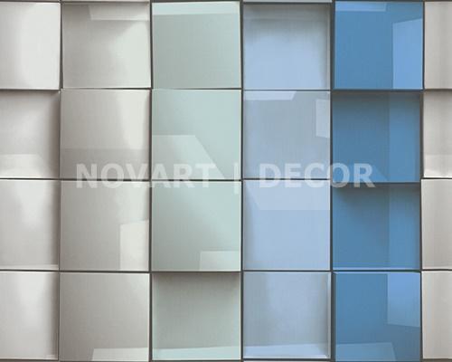 Papel de parede 3D mosaico