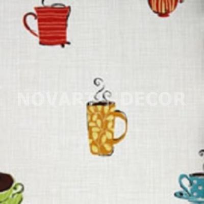 Papel de parede - Cozinha caneca colorida