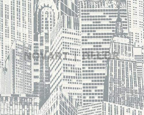 Papel de parede - Luminescência cidades claro