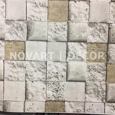 Papel de parede - Rústicos mosaico mescla