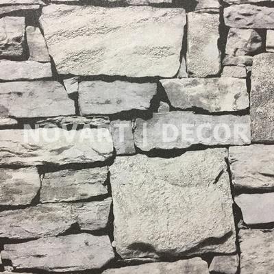 Papel de parede - Rústicos parede cinza