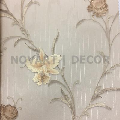 Papel de parede - Arabesco floral