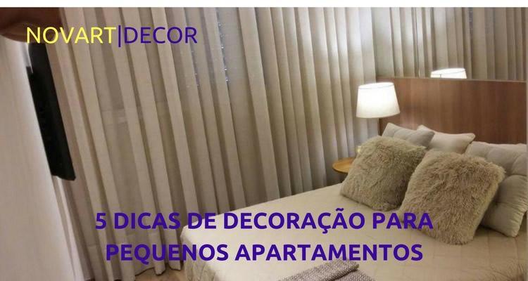 5 dicas de decoração para pequenos apartamentos
