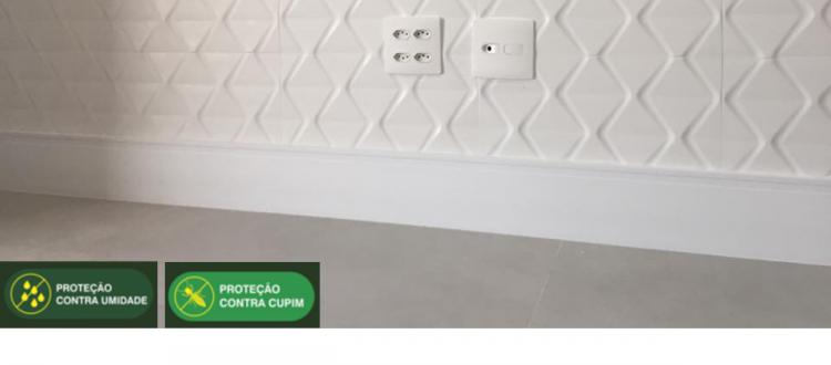 Coleção Premium Moldurama  - Rodapés com proteção contra cupins e umidade