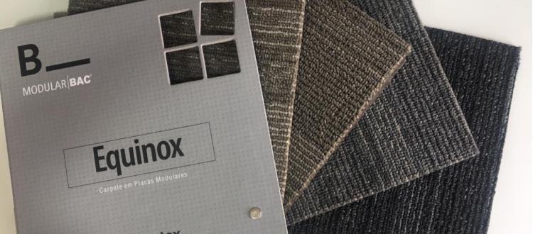Equinox - Carpete modular perfeito para mundo corporativo